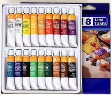 36 Tuben feine Magi® GOUACHE -Farben, 2 Sets je 12ml x 18 Farbtöne