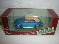 VITESSE VW 1949 CLOSED CABRIOLET # 411 scala 1:43 MISB