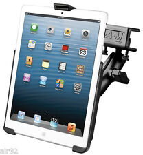 RAM Flat Clamp Glareshield Mount for iPad mini 4, w/o Case or Sleeve