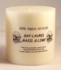 Church Candle Bay Laurel, Basil & Lime  (7.5cm x 7.5cm)