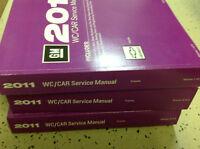 2011 CHEVY CHEVROLET IMPALA Service Workshop Shop Repair Manual Set OEM