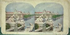 "T.W. Ingersoll Stereoview, ""Palace of Electricity."" 1904 St. Louis Fair"