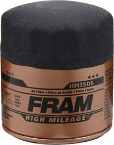4PACK  Fram HM3506 High Mileage Oil Filter Fits Buick, Jeep Chevrolet, GMC &more