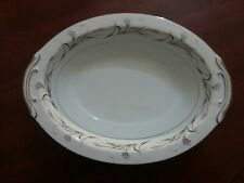 "Sears Harmony House Platinum Garland 11"" Vegetable Bowl Excellent Condition"