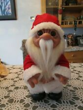 "1977 Grandpa Claus - 14"" Dam Norfin Troll - Made in Denmark"