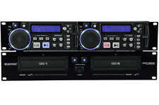 Omnitronic XCP-2800 - Doppel CD Player Dual CD-Player
