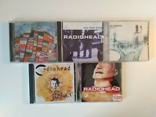 RADIOHEAD - LOTTO 5CD / PABLO HONEY - THE BENDS - OK COMPUTER - MY IRON LUNG..