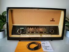 German radio Nordmende Parsifal with Stereo Amplifier. Full FM. Amassing sound.