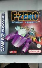 F ZERO MAXIMUM VELOCITY GAME BOY ADVANCE
