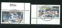 Luxus BRD Mi-Nr. 1449-1450 Ecke - zentrisch gestempelt Tagesstempel Ersttag