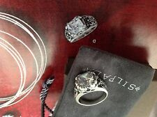 Silpada blissfull Thinking Ring R3368 New In Box Size 8.