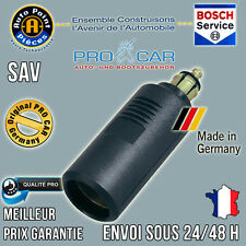 ProCar Adaptateur 12-24V Allume Cigare Prise DIN 16A Camion Camping Car Bateau