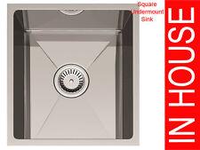 Undermount Square Sink,340x400x200mm