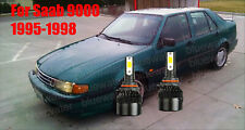 LED For Saab 9000 1995-1998 Headlight Kit 9006 HB4 White CREE Bulbs Low Beam