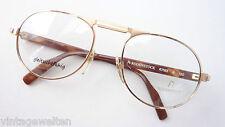 Rodenstock Pilotenbrille Fassung Metallgestell Bügel Hornoptik braun Grösse L