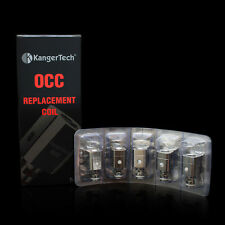 8AUTHENTIC* 5-Pack Kanger OCC 0.5ohm Coils - FREE SHIP!