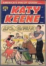 KATY KEENE #6 (FN) GOLDEN AGE ARCHIE SERIES, NICE BOOK