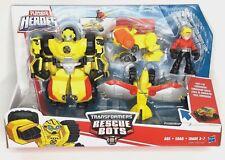Transformers Rescue Bots Bumblebee Rock Rescue Team Playskool Heroes New