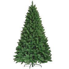 PREMIUM 5FT 6FT 7FT GREEN BLACK WHITE CHRISTMAS TREE ARTIFICIAL COLORADO XMAS