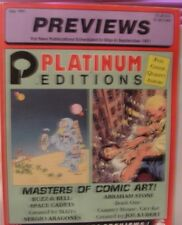 DIAMOND PREVIEWS COMIC BOOK CATALOG #145 JULY 1991 STAR TREK & SPORTS CARDS