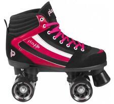 New! Playlife Groove Black & Pink Indoor/Outdoor Quad Roller Skates