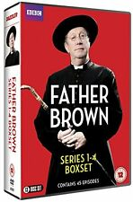 Father Brown . The Complete Series 1-4 . Season 1 2 3 4 . Staffel . 13 DVD . NEU