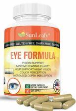 Lutein, Zeaxanthin, Eye MultiVitamins (Non-GMO) Vision Support Supplement