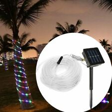 10M Solar Rope Light LED Outdoor, Wedding, Christmas Lighting Decoration