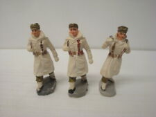 Bundle Of 3 Figurines Antique Army Foreign Period Starlux Aohna Clairet Jim