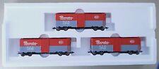 Märklin 45690 - 3 gedeckte Güterwagen Set / Freight Car Set - OVP - Spur HO