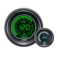 Genuine Prosport EVO 52 mm Verde Bianco Indicatore Temperatura Olio Temp gradi C
