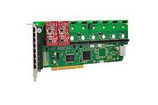 OpenVox A800P02 8 Port Analog PCI Base Card + 0 FXS + 2 FXO, Ethernet (RJ45)