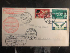 1935 Davos Switzerland to St Moritz Zurich First Flight Cover FFC C14 C19 C20