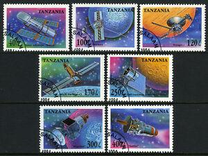 Tanzanie 1319-1326,Cto.space Sondes,Satellites.voyager,Magellan,Galilei Avec
