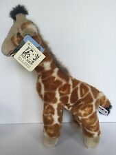 "Aurora Giraffe Jilly 16"" Wildbeasts Plush San Diego Zoo Knoxville With Hang Tag"
