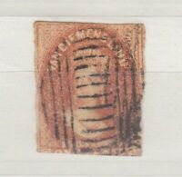 Van Diemens Land QV 1857 1d Chalon No Watermark Used J7113