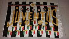 JUVENTUS FC BANDIERA drapeau flag no ultras Juve 1971/1972 vintage rare juventus