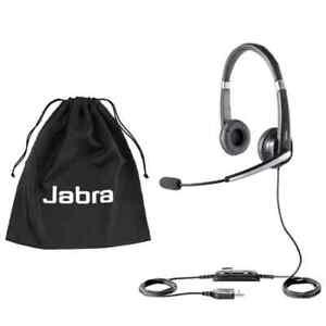 Jabra UC Voice 550 MS Duo USB Noise-Canceling Professional Headset  *New*