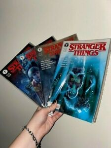 Stranger things the other side comic set 1 to 4. published by dark horse comics