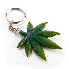 """""""WEED LEAF KEYRING"""" Legally Keep Your Keys & Your Weed Together"""