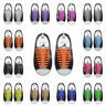 16PCS/Set Unisex Lazy Silicone Elastic Shoelaces No Tie Shoe Laces Fit Sneakers