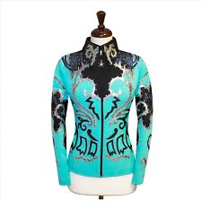 4X-LARGE Western Showmanship Pleasure Horsemanship Show Jacket Shirt Rodeo Queen
