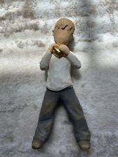 Demdaco Willow Tree Heart of Gold (Boy) by Susan Lordi 2004 Figurine No Box