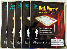 30 x Stick On Disposable Instant Heat Packs/Warmers-NO heating req!