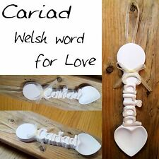 CARIAD, large Love Spoon, Ivory Pearl - Truly for You CLL11
