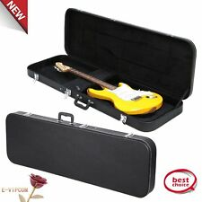 New Universal Electric Bass Guitar Hard-Shell Case w/ Full Neck Support USA HMX