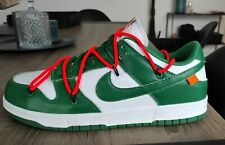 Off White X Nike Dunk Low Pine Green Size Us 11/Uk 10/Fr 45