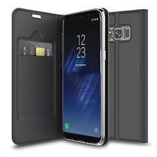 Handy Hülle Samsung Galaxy S8 Plus Book Case Schutzhülle Tasche Slim Flip Cover