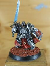 FINECAST WARHAMMER GREY KNIGHTS CAPTAIN STERN PAINTED (214)