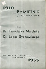 1935 Program Polish Chicago Local Ads